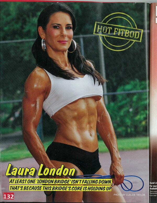 Bodyspace - LauraLondon Laura London October Issue Planet