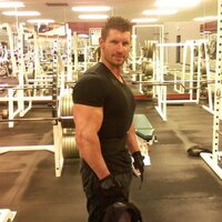 Me at 220 lbs. Need to be leaner!