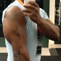 Arms are kind of getting there!
