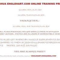My online training prices!
