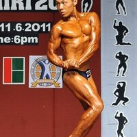 my 1st bodybuidling competition - Mr Miri 2011