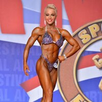 On Stage at the Arnold Classic 2015
