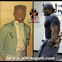 Transformation Tuesday age 17 compared to age 42!