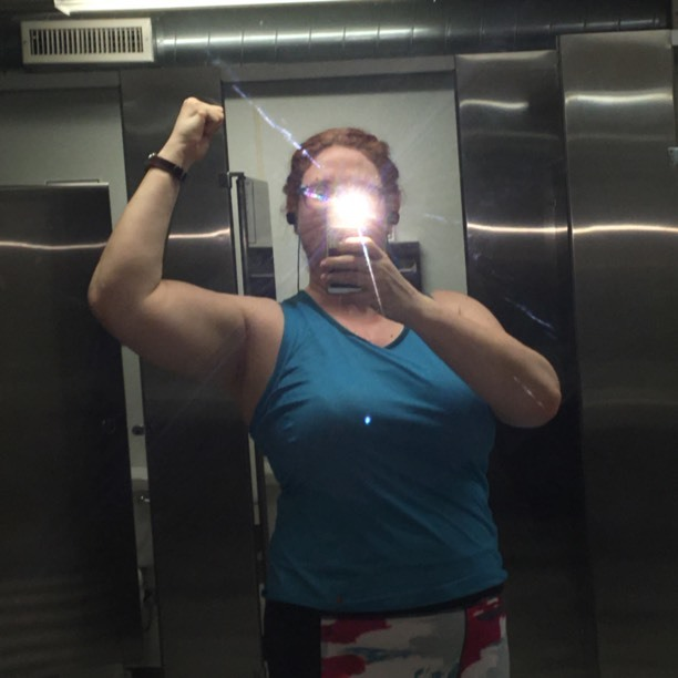 Bathroom Stall Workout from she-bulk to she-hulk - transformation phase 1: 12/6/16 - 3/2