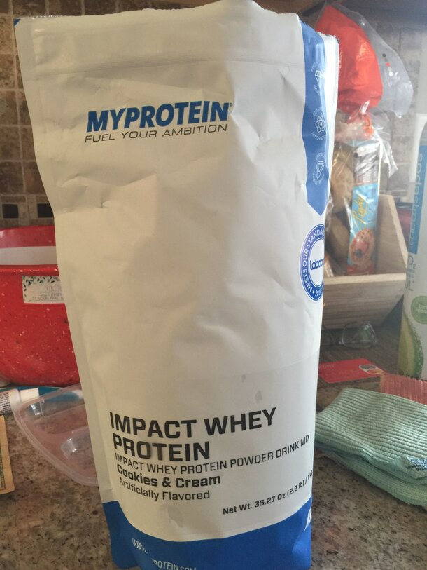 My protein cookies and cream